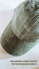 FOREST WASHED CAP