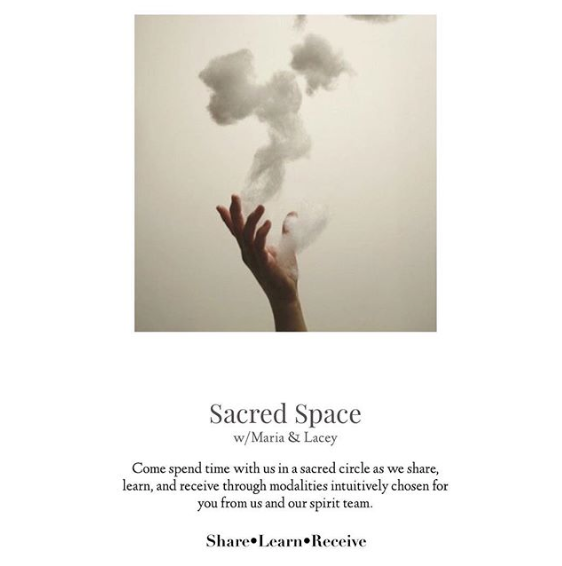 Sacred Space with Maria and Lacey ✦✧ Announcement ✧✦