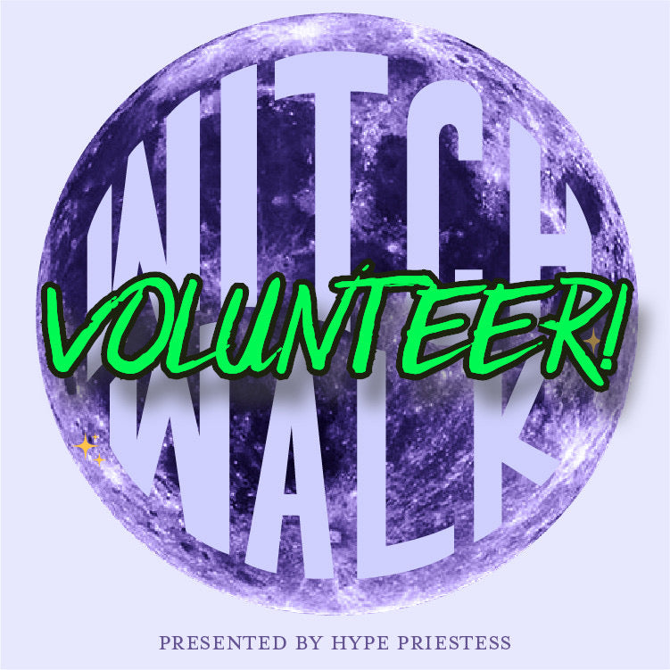 Witch Walk DTSA Volunteer Information