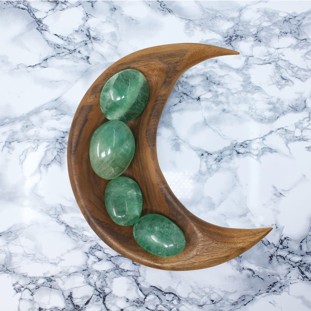 Sea Green Fluorite ✧ Palm Stone