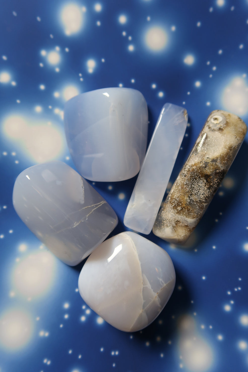 Chalcedony ✧ Star Portal Pieces
