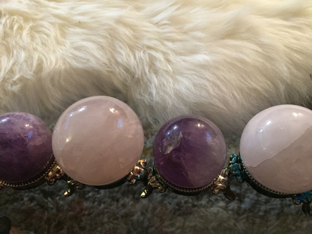Rose Quartz ✧ Rose Crystal Balls