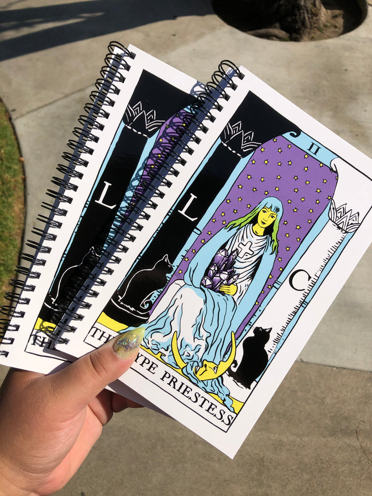 Hype Notes ✧ Hype Priestess Intentions Journal
