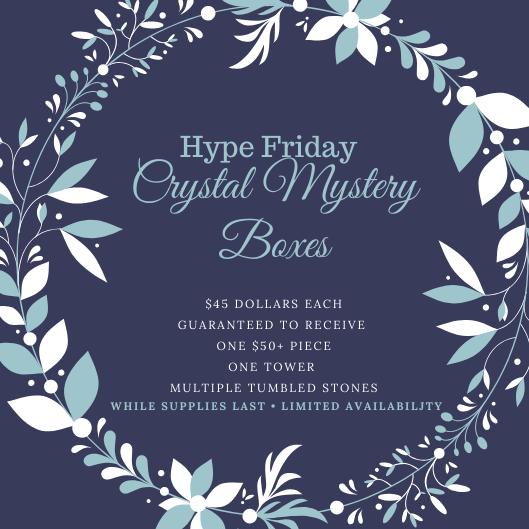 Crystal Mystery Boxes ✧ Hype Friday