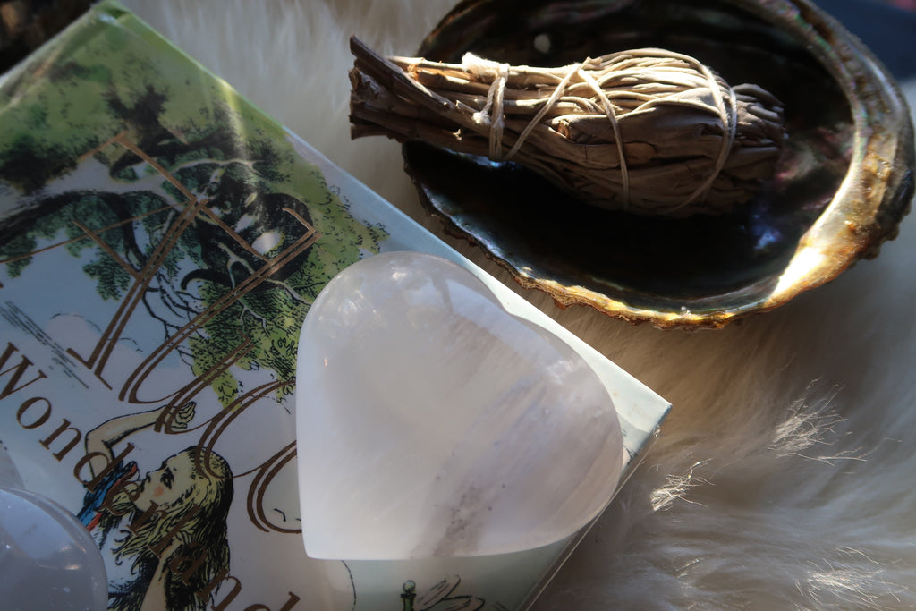 Selenite ✧ Moon Hearts