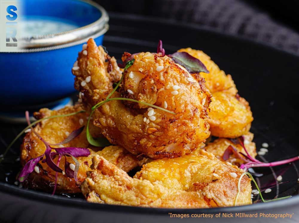 Deep Fried Honeyed Prawns