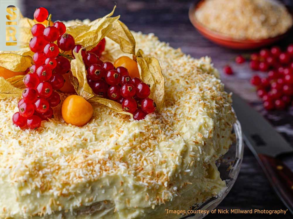 Toasted Coconut Cake