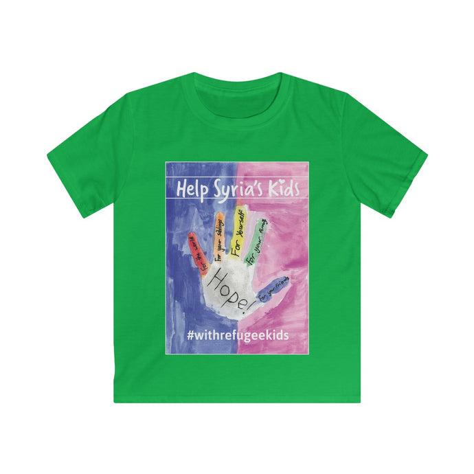 Kids Softstyle Tee - HOPE LARGE