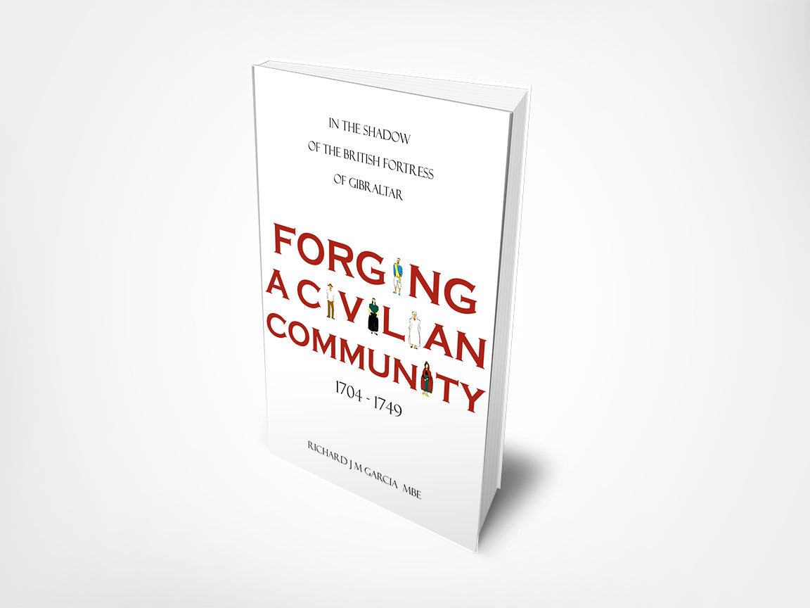 Book cover illustration for Forging a Civilian Community