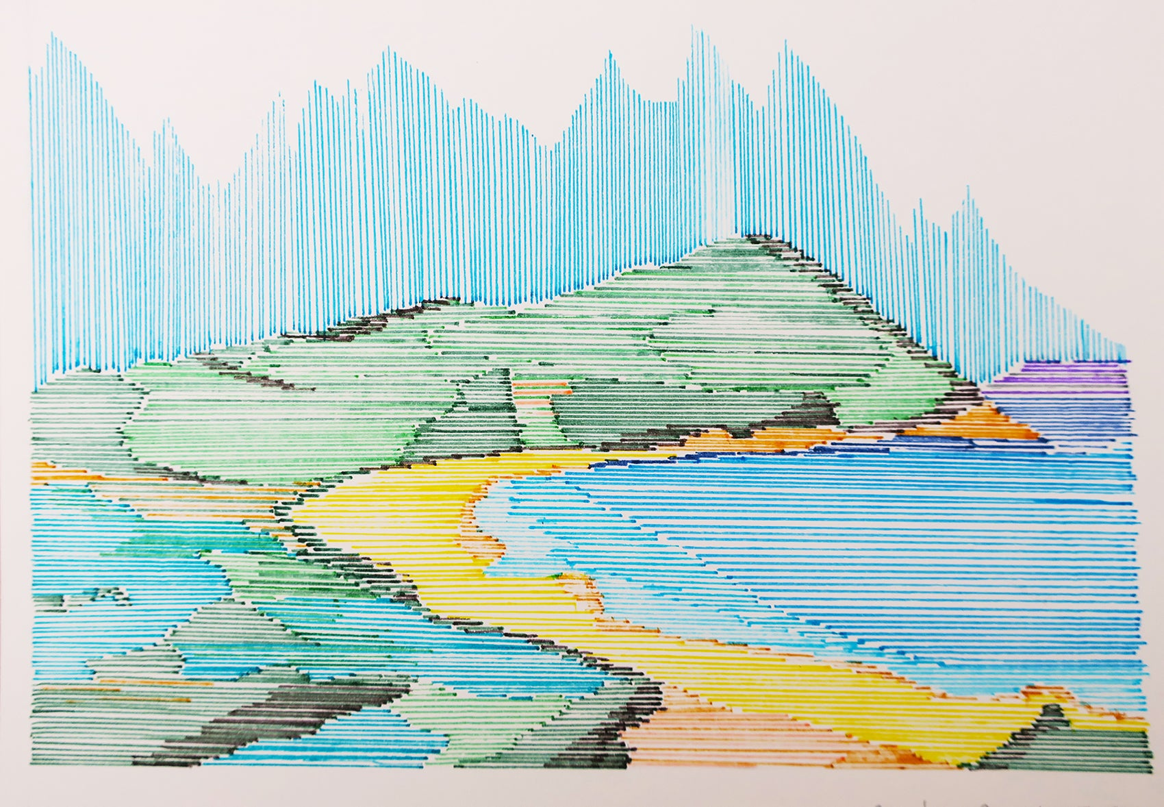 Mornington Peninsula Illustration