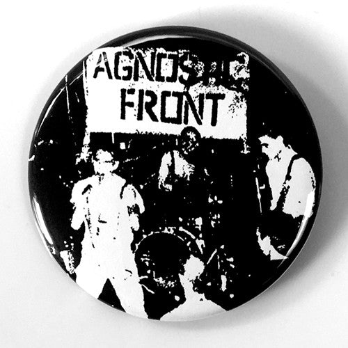 "Agonstic Front ""United Blood"" (1"", 1.25"", or 2.25"" Pin)"