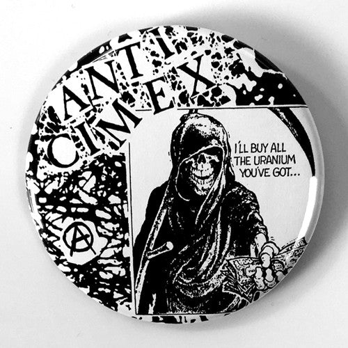 "Anti-Cimex ""Raped Ass"" (1"", 1.25"", or 2.25"" Pin)"