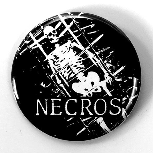 "Necros ""IQ 32 Back"" (1"", 1.25"", or 2.25"" Pin)"