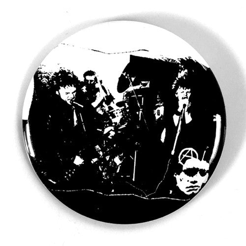 "Discharge ""Realities of War Back"" (1"", 1.25"", or 2.25"" Pin)"