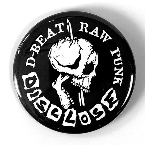 "Disclose ""D-Beat Raw Punk"" (1"" or 2.25"" Pin)"