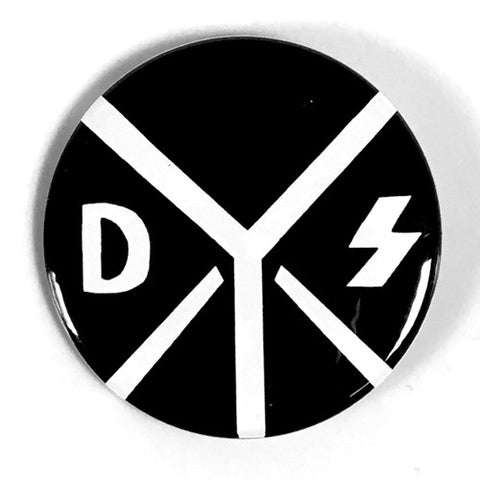 "DYS ""Logo"" (1"", 1.25"", or 2.25"" Pin)"
