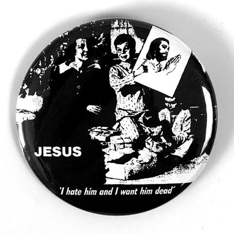 "Feederz ""Jesus"" (1"", 1.25"", or 2.25"" Pin)"