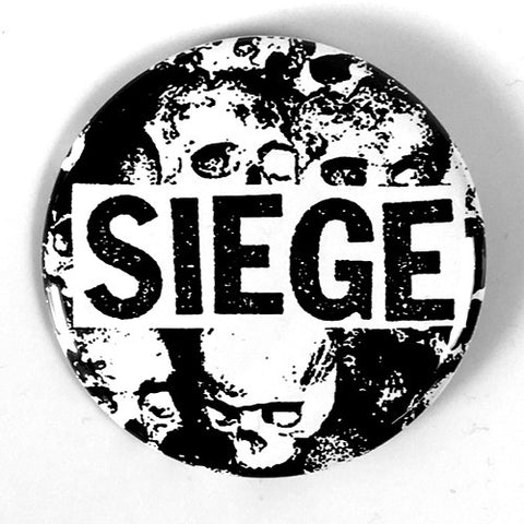 "Siege ""Logo"" (1"", 1.25"", or 2.25"""" Pin)"