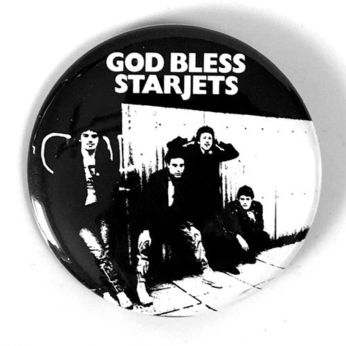 "Starjets ""God Bless"" (1"" or 2.25"" Pin)"