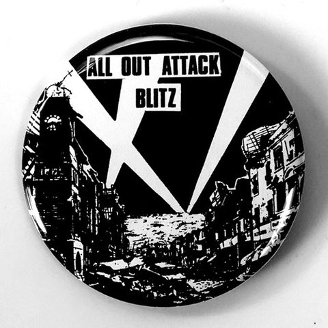 "Blitz ""All out Attack (Back)"" (1"" or 2.25"" Pin)"