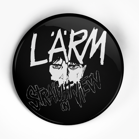 "Larm ""Straight On View"" (1"", 1.25"", or 2.25"") Pin"