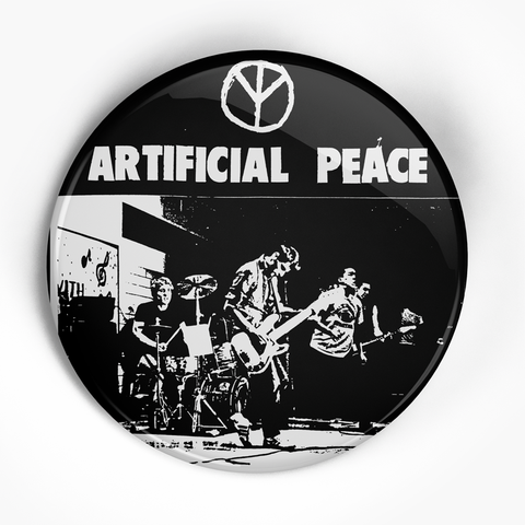 "Artificial Peace ""Flex Your Head"" (1"", 1.25"", or 2.25"") Pin"
