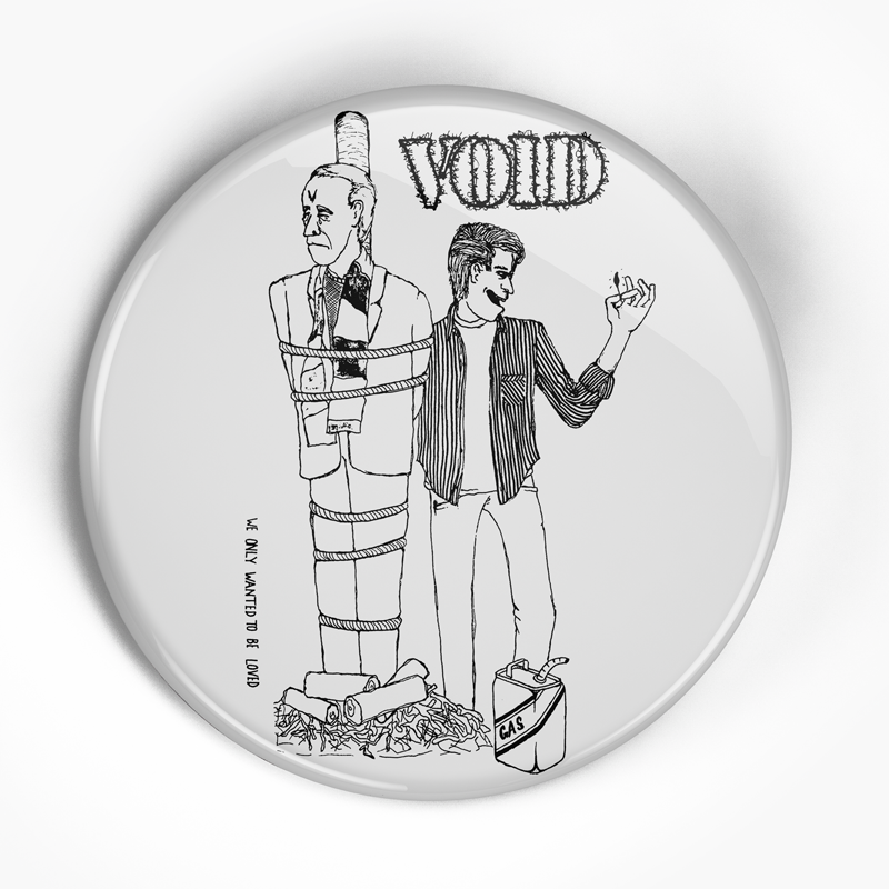 "Void ""Flex Your Head"" (1"", 1.25"", or 2.25"") Pin"