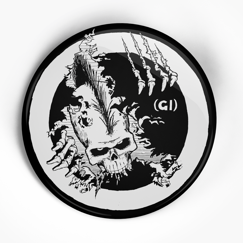 "Germs ""Flyer"" (1"", 1.25"", or 2.25"") Pin"