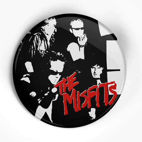 "Misfits ""Bullet Back"" (1"", 1.25"", or 2.25"") Pin"