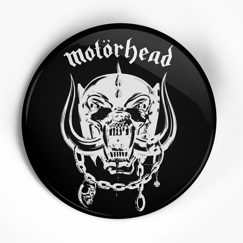 "Motorhead ""Logo"" (1"", 1.25"", or 2.25"") Pin"