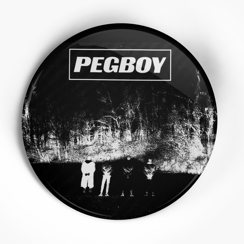"Pegboy ""Cover"" (1"", 1.25"", or 2.25"") Pin"