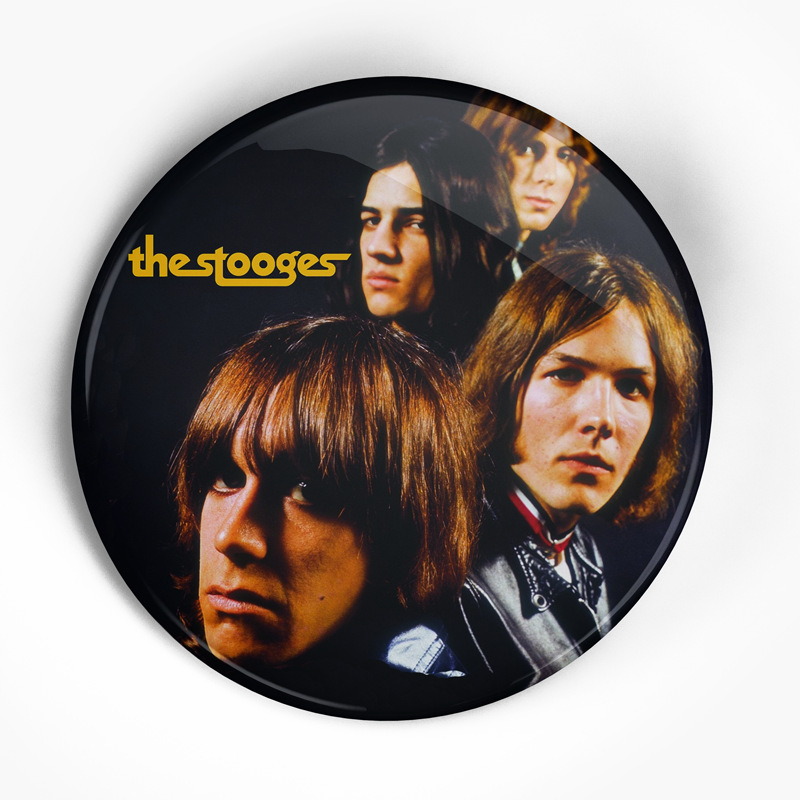 "Stooges ""LP"" (1"", 1.25"", or 2.25"") Pin"