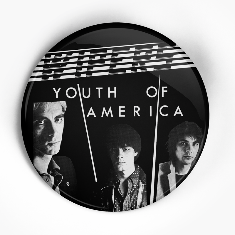 "Wipers ""Youth of America"" (1"", 1.25"", or 2.25"") Pin"