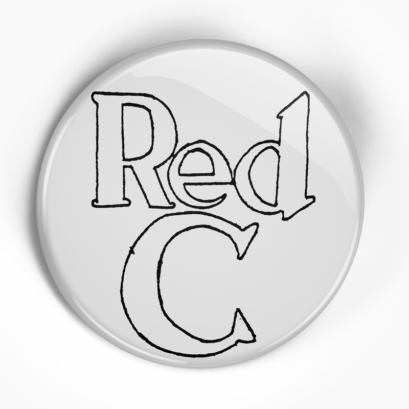 "Red C ""Logo"" (1"", 1.25"", or 2.25"") Pin"