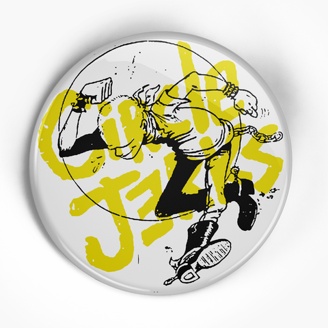 "Circle Jerks ""Skank Man"" (1"", 1.25"", or 2.25"") Pin"