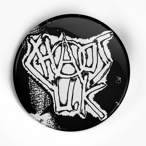"Chaos UK ""Logo"" (1"", 1.25"", or 2.25"") Pin"