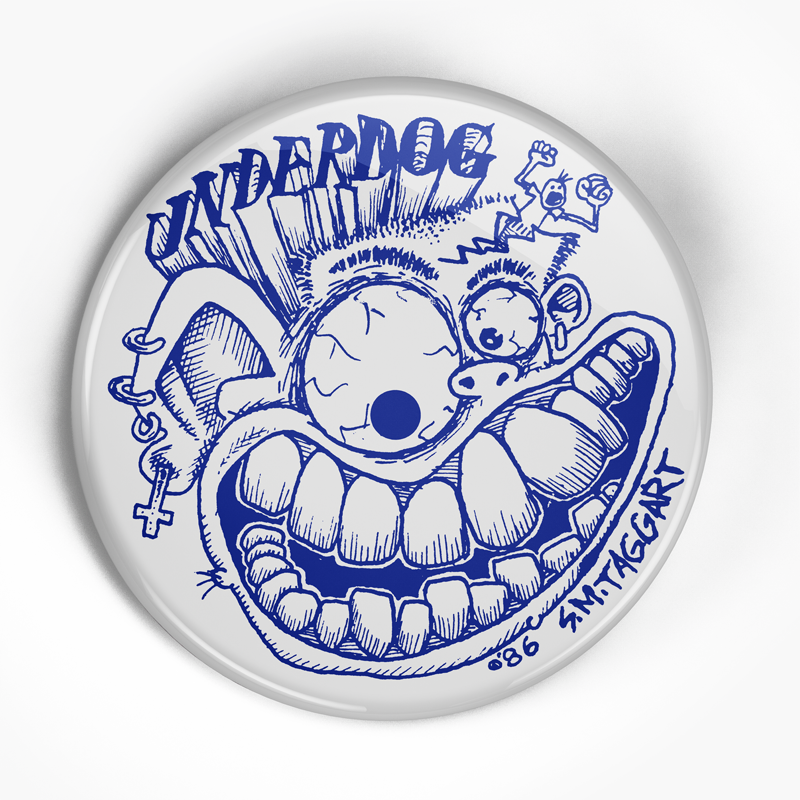 "Underdog ""Label"" (1"", 1.25"", or 2.25"") Pin"