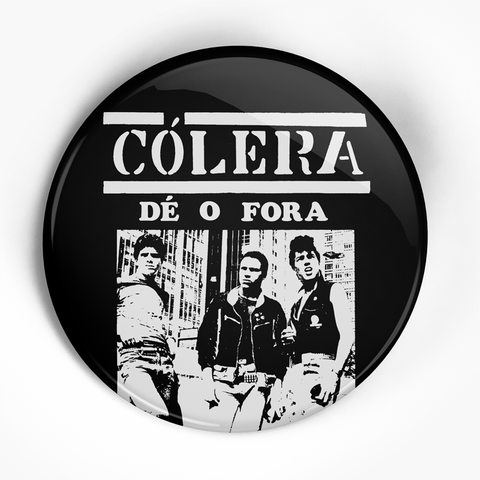"Colera ""De o For a"" (1"", 1.25"", or 2.25"") Pin"