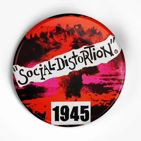 "Social Distortion ""1945"" (1"", 1.25"", or 2.25"") Pin"