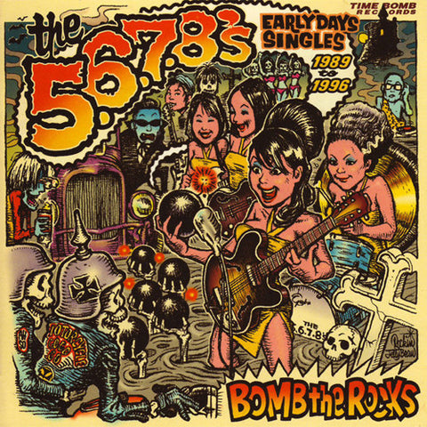 "5.6.7.8.'s, THE ""Bomb the Rocks: Early Days Singles 89-96"" 2xLP"