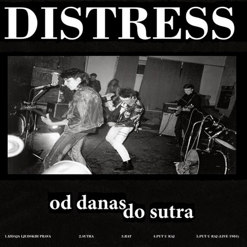 DISTRESS / ODPADKI CIVILZACIJE LP