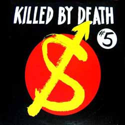 "V/A ""KILLED BY DEATH Vol. 5"" Compilation LP"
