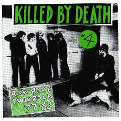 "V/A ""KILLED BY DEATH Vol. 4"" Compilation LP"