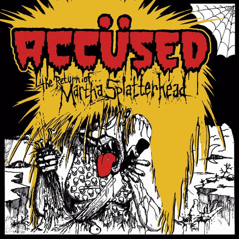 "ACCUSED ""Return of Martha Splatterhead"" LP"
