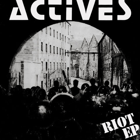 "ACTIVES ""Riot/Wait & See"" LP"