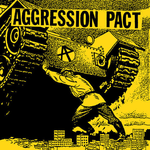 "AGGRESSION PACT ""S/T"" 7"""