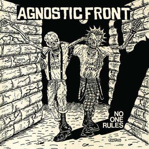 "AGNOSTIC FRONT ""No One Rules"" LP"