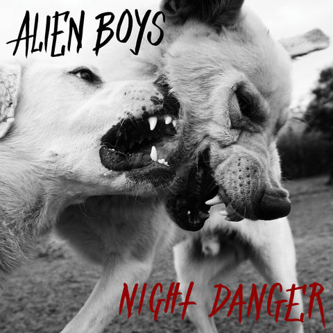 "ALIEN BOYS ""Night Danger"" LP"
