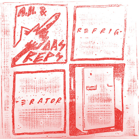 "ANDY HUMAN & THE REPTOIDS ""Refrigerator"" 7"""