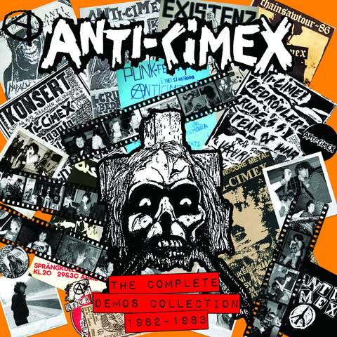 "ANTI CIMEX ""The Complete Demos Collection 82 to 83"" LP"